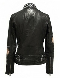 True Religion Racing black leather jacket