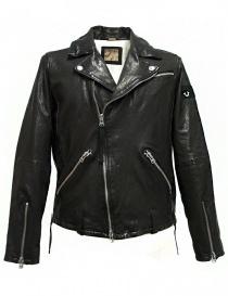 True Religion Biker black leather jacket M17SY15D1G order online