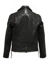 Giubbino True Religion Biker in pelle nera