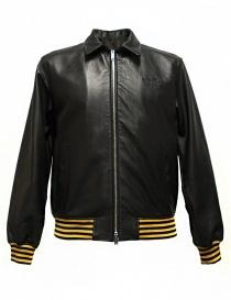 Giubbino Golden Goose Coach in pelle nera G30MP539-A1 order online