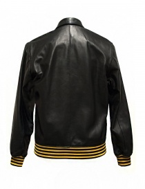 Golden Goose Coach black leather jacket