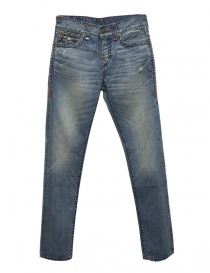 Mens jeans online: True Religion Rocco mid blue jeans