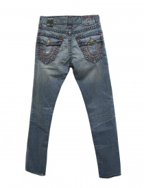 True Religion Rocco mid blue jeans