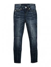 Jeans donna online: Jeans True Religion Halle colore blu lavato