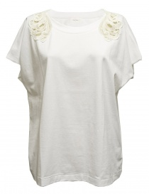 Harikae white short sleeve sweater SS7H0033-T-SHIRT-W order online