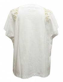 Harikae white short sleeve sweater