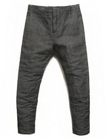 Pantalone Label Under Construction Front Cut colore grigio 29FMPN73-LC16A-29-5 order online