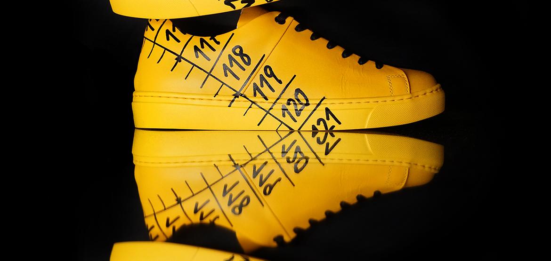 Il Centimetro Icon yellow shoes