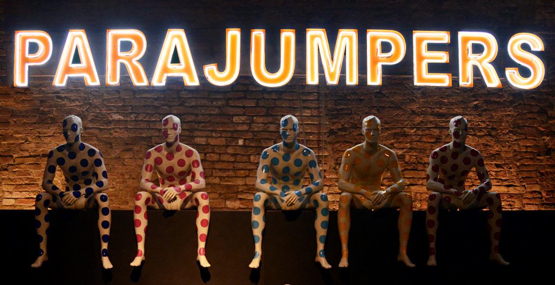 Parajumpers Treviso mannequins