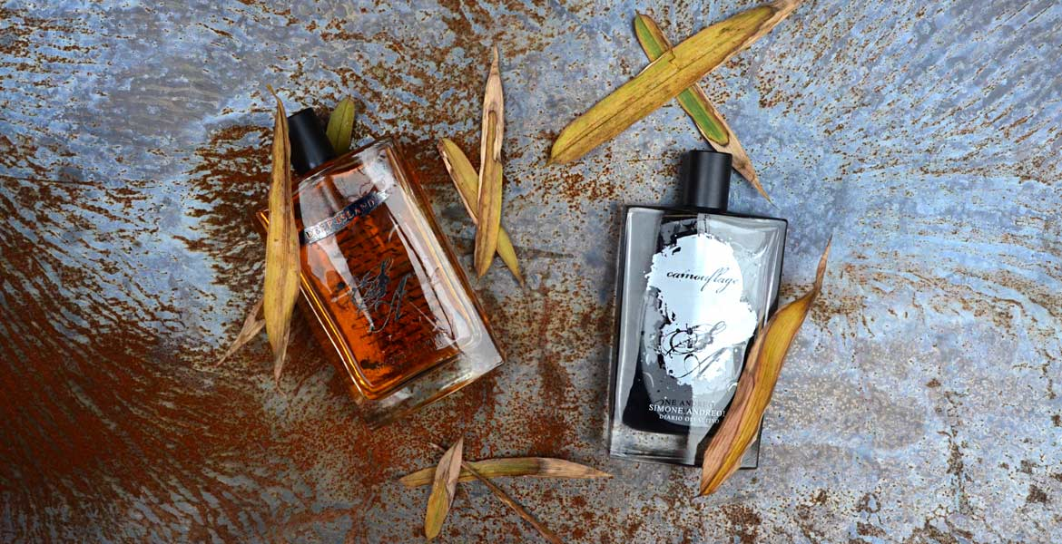 Deep Island and Camouflage perfumes