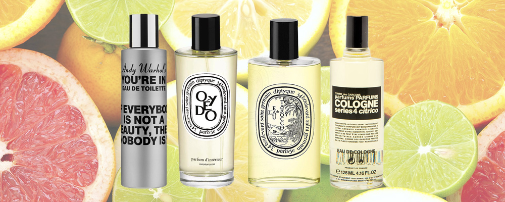 Best citrus like perfumes selection online