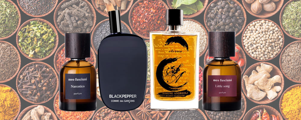Spicy feminine and masculine perfumes online