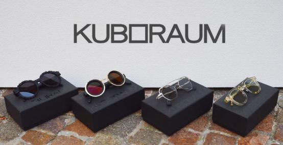 Occhiali Kuboraum: maschere geometriche per esprimere se stessi