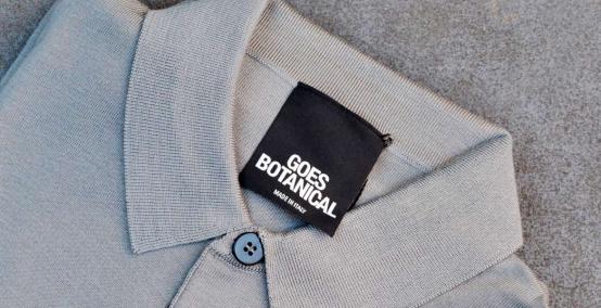 Goes Botanical: men's knitwear in extra-fine merino wool